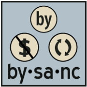Vizsage BY-NC-SA License Logo